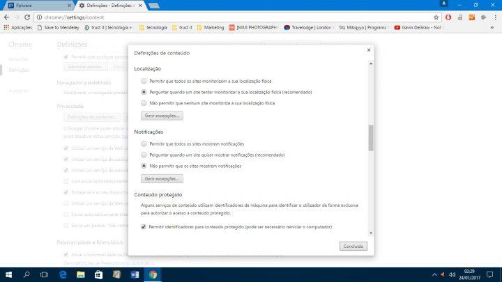 notificações - Chrome 4