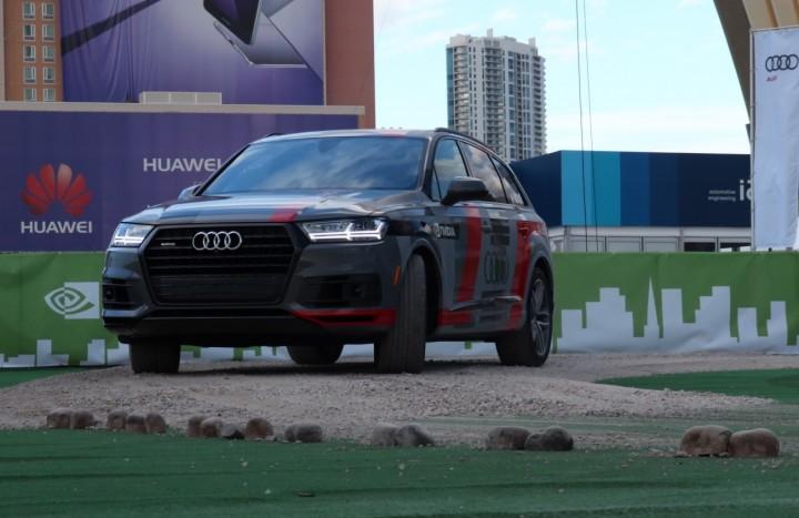 Nvidia Audi testes