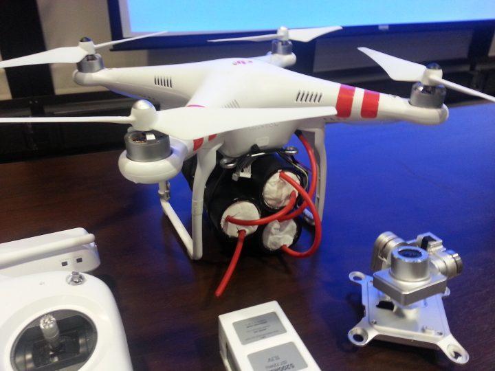 Poderão os drones passar a ser usados em ataques terroristas?