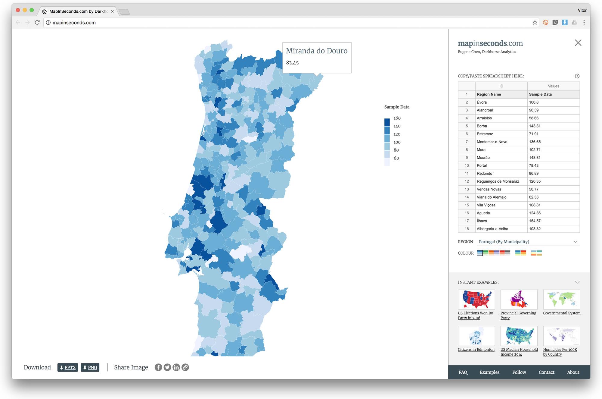 Como Fazer Mapas Estatisticos Interactivos De Forma Simples Pplware