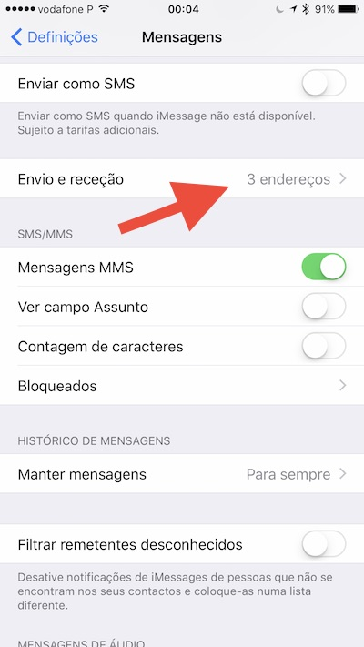 Como sincronizar as Mensagens e SMS no iOS e no macOS - Pplware