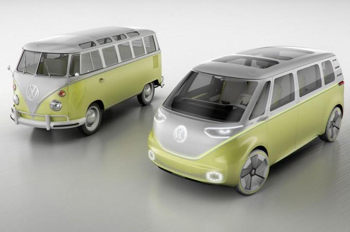 ID Buzz - Pão de Forma da Volkswagen está de volta e agora é eléctrico
