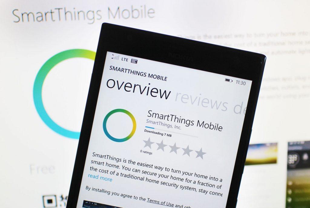 Windows Phone SmartThings