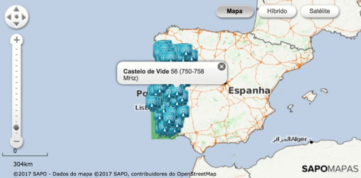 mapa cobertura 4g portugal TDT: realidade da cobertura dos canais está longe da anunciada  mapa cobertura 4g portugal