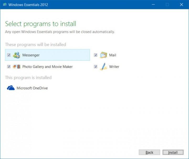Windows Essentials