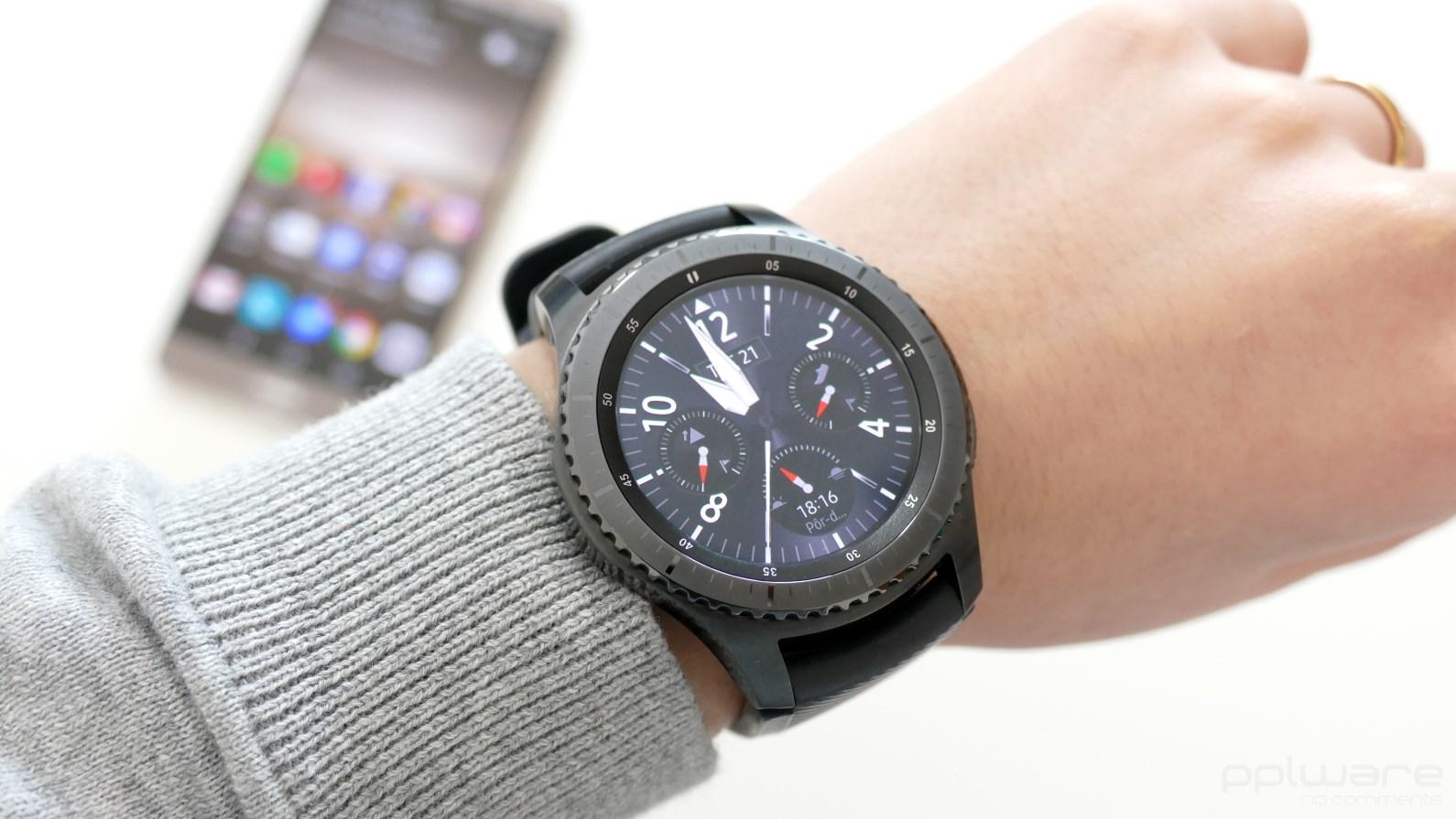 be8a6582fdd Análise ao smartwatch Samsung Gear S3 Frontier - Pplware