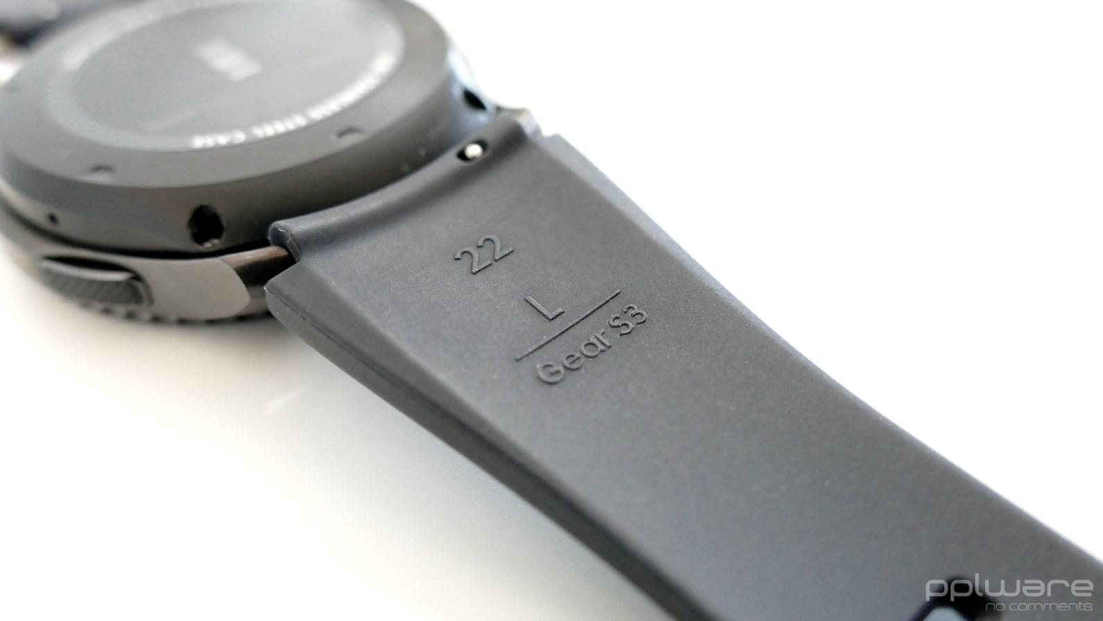d17bddd5c7e bracelete L preta do samsung gear s3 frontier ...
