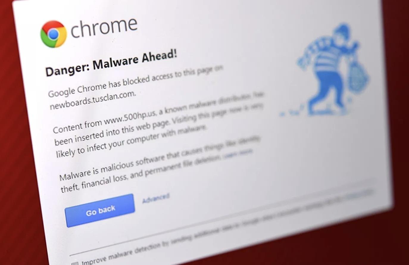Cuidado, novo malware para Chrome surge como falha numa fonte