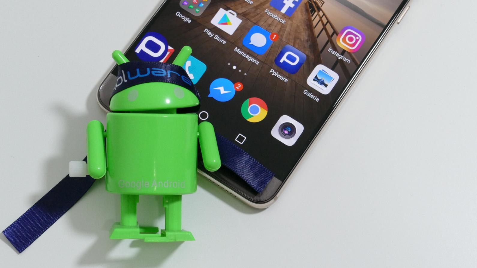 Android apps gerir permissões
