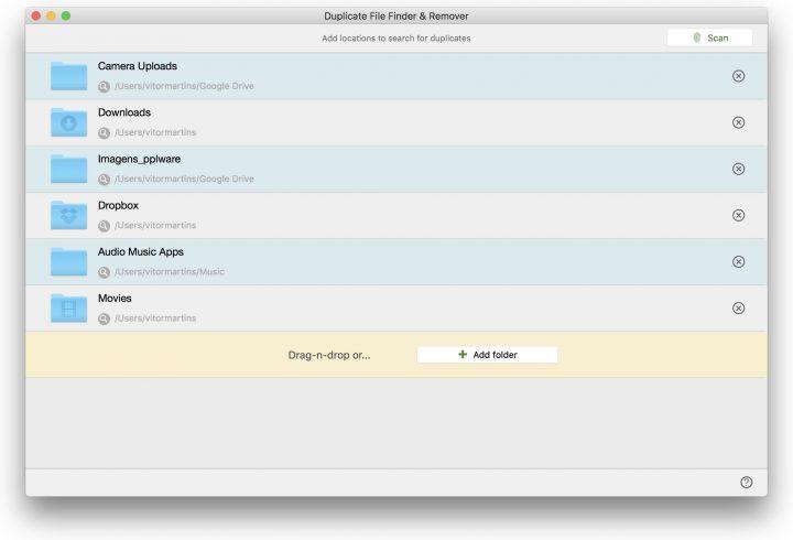 Duplicate File Finder & Remover - Saúde e bem estar do seu Mac
