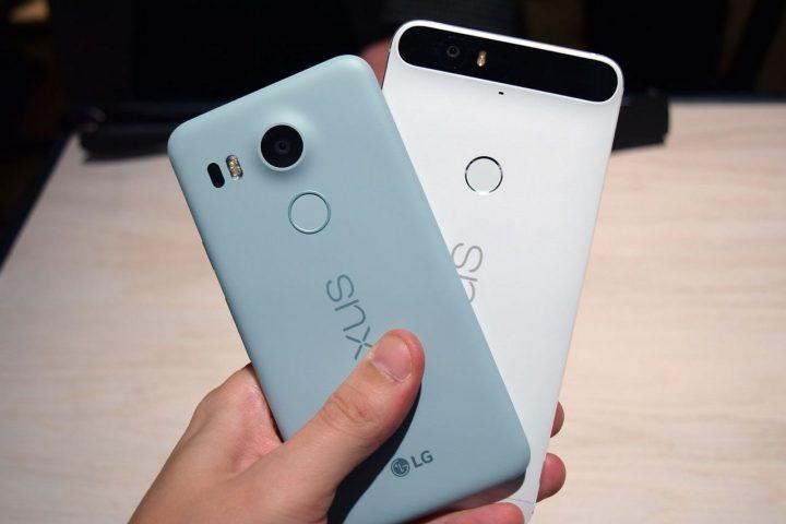 Nexus 5X e 6P Android 7.1.2