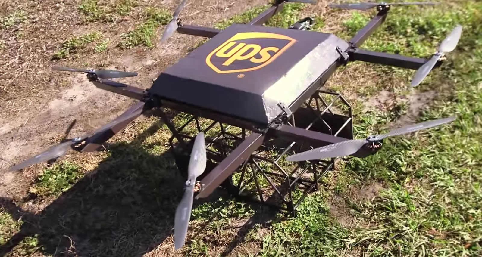 UPS aposta forte no projeto de entregas com drones