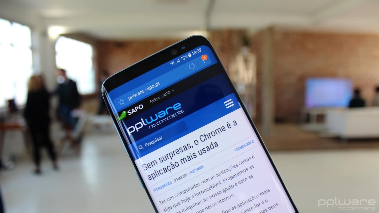 1e3fe6be0e Galaxy S9 surge muito atrás do iPhone X em teste de Benchmark - Pplware