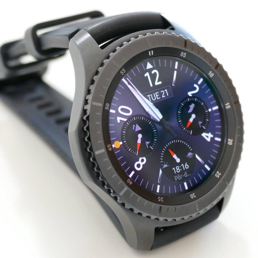 c28e23d2bfd Análise ao smartwatch Samsung Gear S3 Frontier