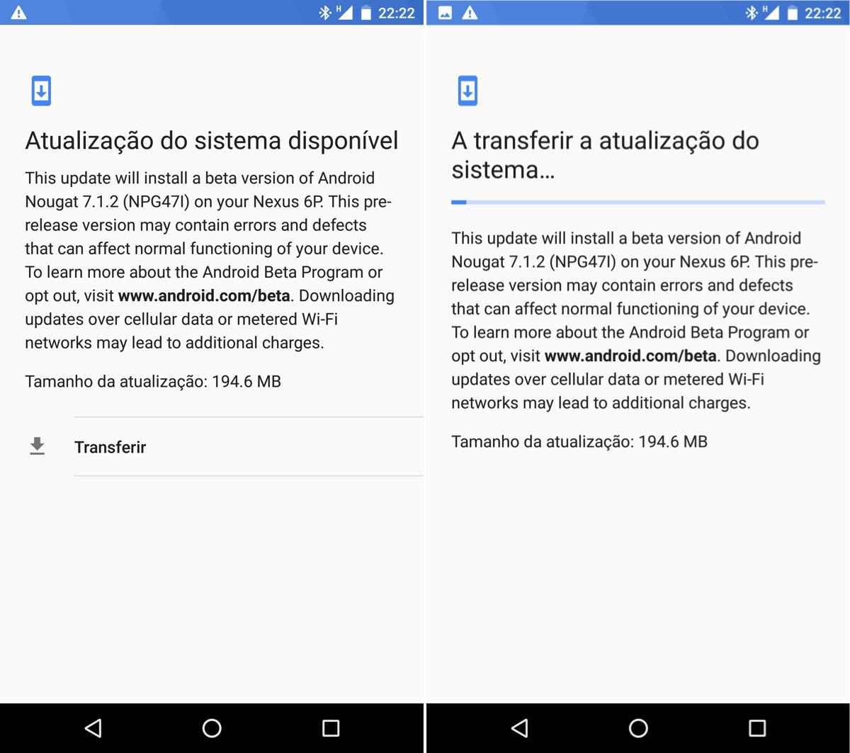 Papéis de Parede e Toques do Android O disponíveis para download