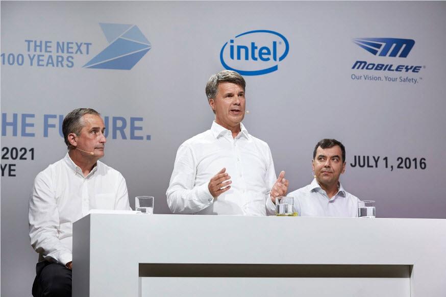 Autónomos: Intel compra Mobileye por 14,35 mil milhões de euros