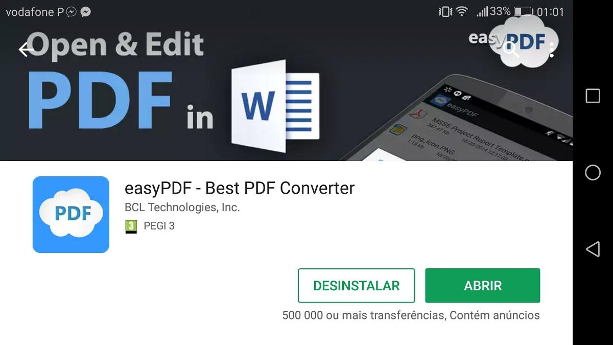 Como converter um PDF para Word no Android - Pplware