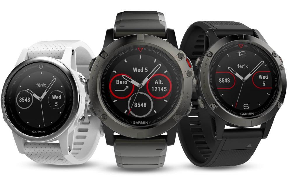 Garmin apresentou hoje a nova gama de relógios fēnix 5