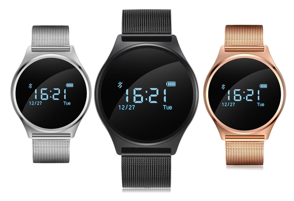 0d5164a2a56 O smartwatch M7 apresenta-se ao mercado com linhas muito elegantes