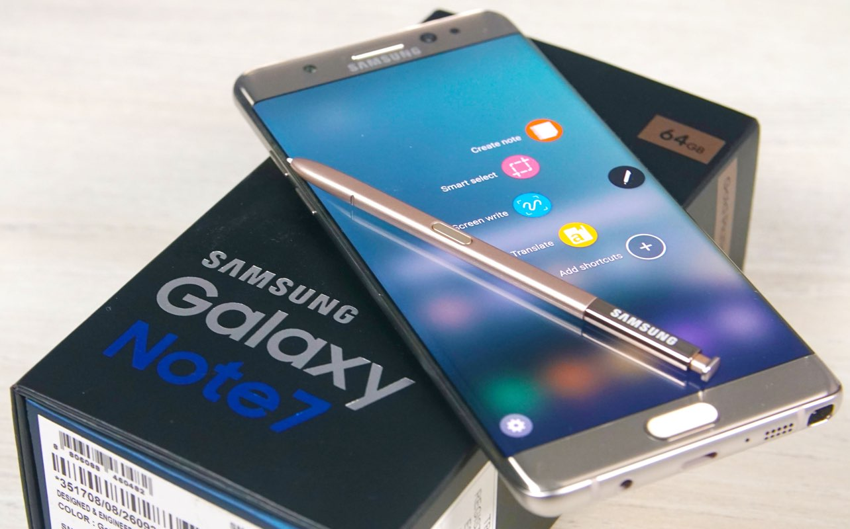 Samsung vai finalmente bloquear os Note7 que estão a funcionar