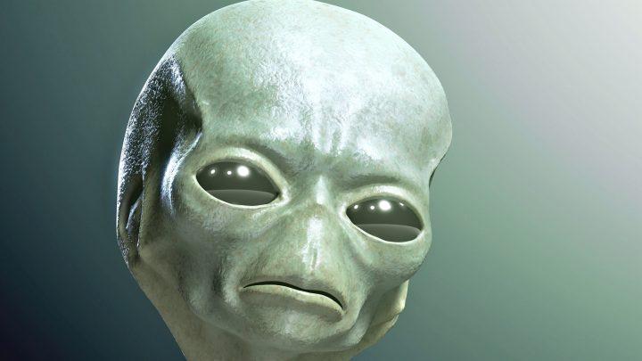 Imagem tradicional de um extraterrestre