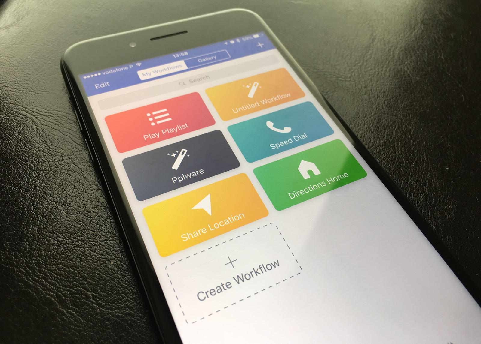 Apple compra a poderosa app Workflow para iOS e está gratis