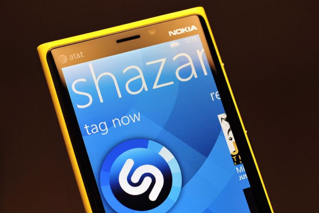 Shazam Windows 10 Mobile