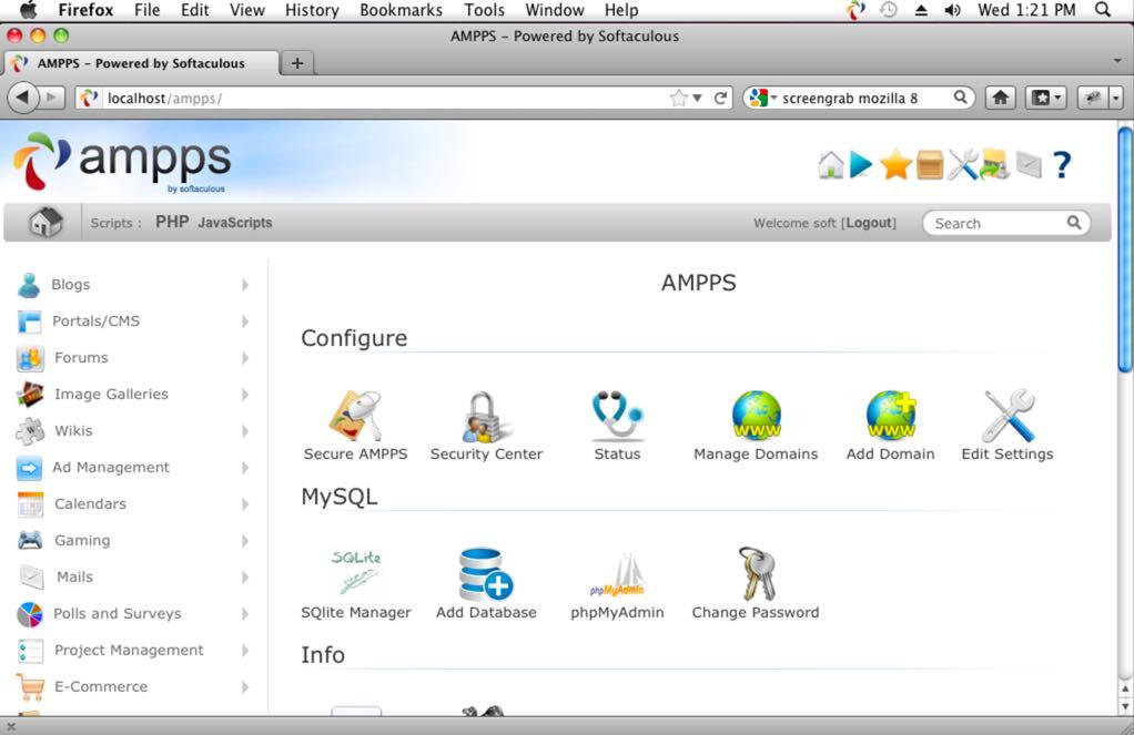 7 plataformas com Apache + PHP + MySQL …e muito mais