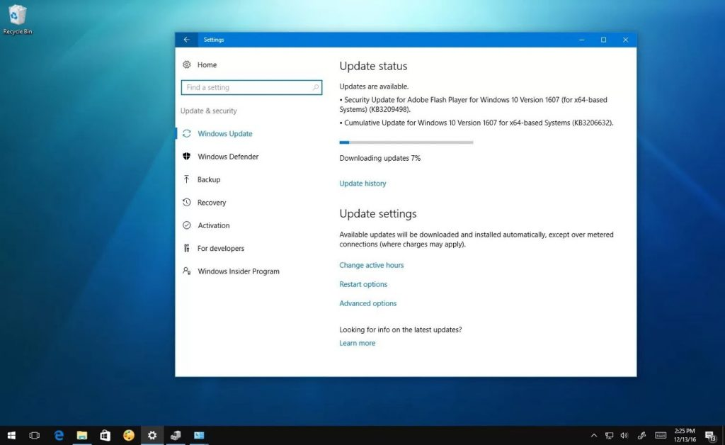 Creators Update atualizar Windows 10