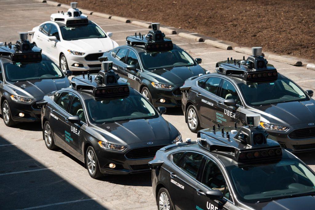 Carro autónomo da Uber