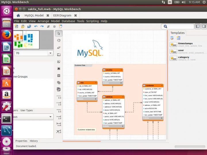 OMySQL Workbench no Ubuntu
