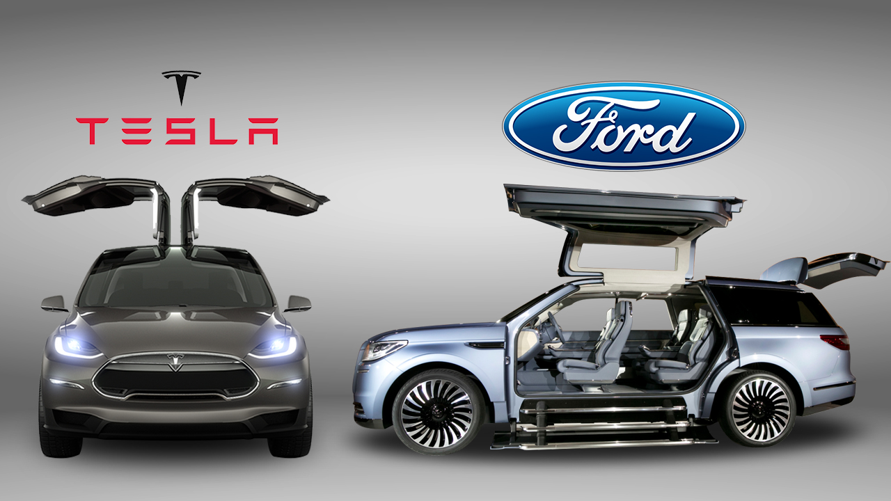 Tesla Suv With Gullwing Doors Image Gallery Hcpr