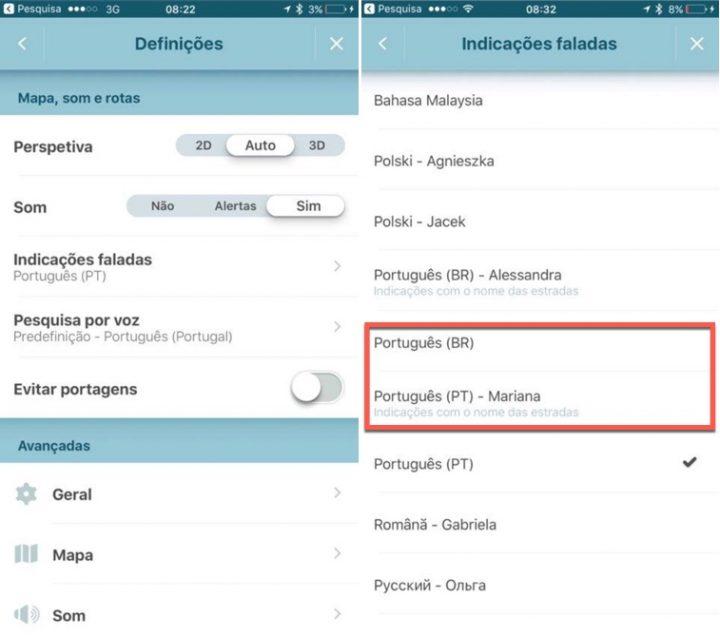 waze já tem indicações faladas em português de portugal