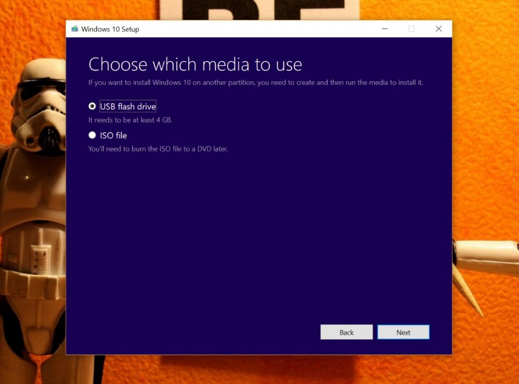 Creators Update Media Creation Tool