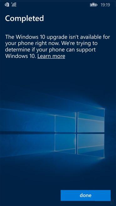 Windows 10 Mobile Assistente de Atualização