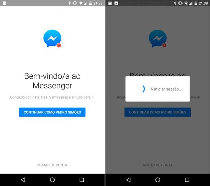 Facebook Messenger configurar