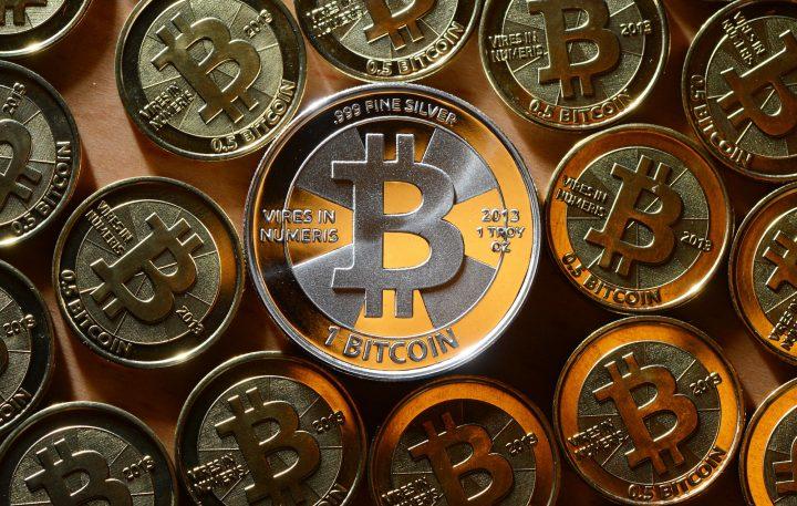 Moedas de bitcoin