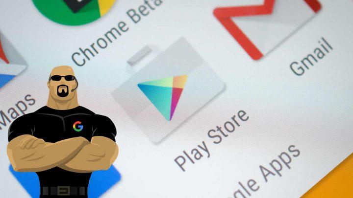 Maior protecção na Play Store