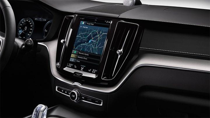 Conceito do Volvo XC60 equipado com a nova versão do Android Auto