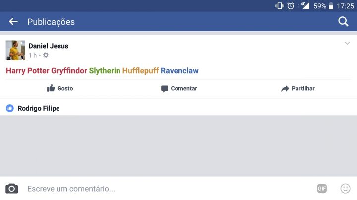 harry potter facebook pplware