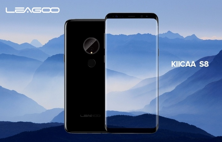 Leagoo aposta no design do Galaxy S8 com o KIICAA S8