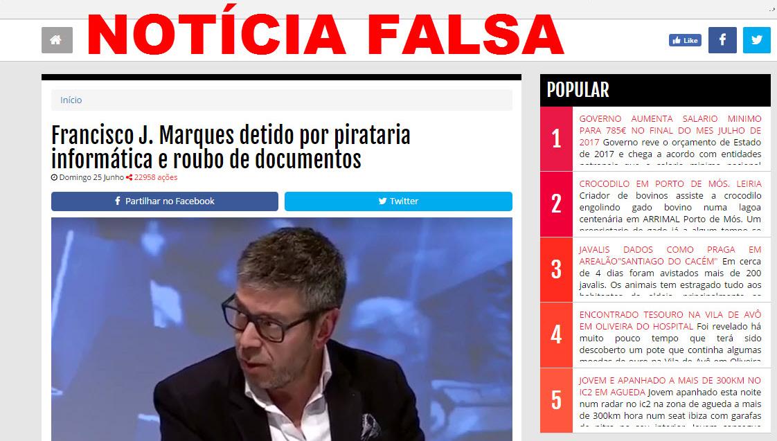 3ea8bd1885 Atenção  Sites de notícias falsas contaminam as redes sociais