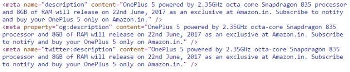 one plus 5 - amazon india