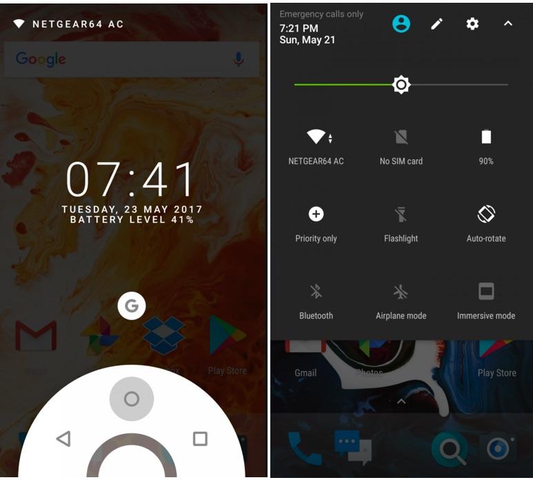 ROM Paranoid baseada no Android 7 1 2 disponível