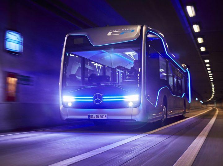 Future Bus é a visão real da Mercedes para o transporte colectivo de passageiros