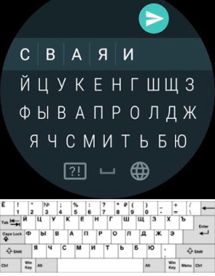 Teclado Android Wear