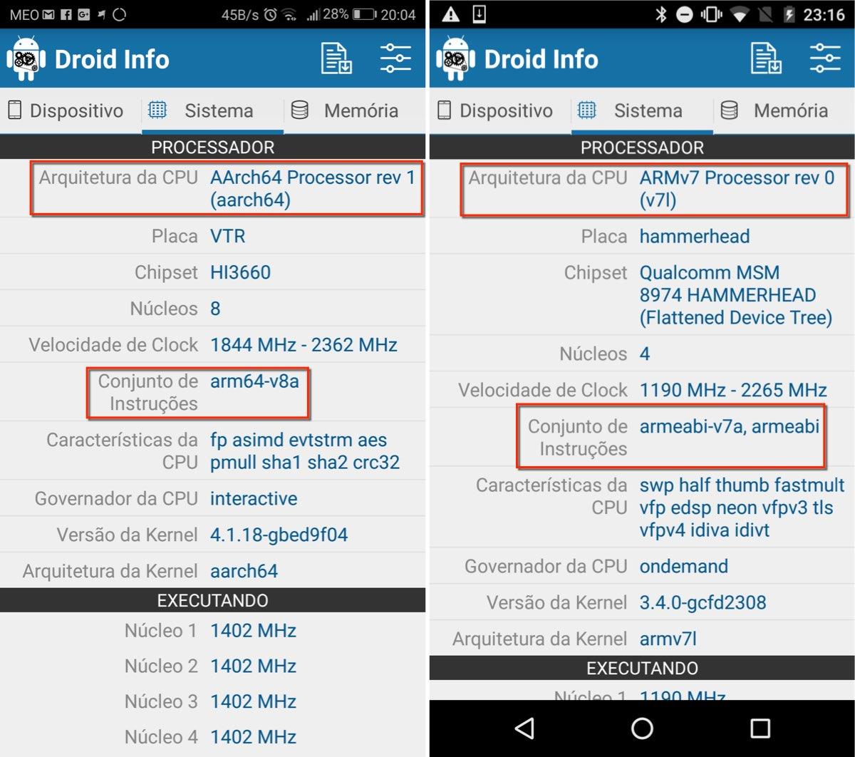 Sabe identificar o processador do seu smartphone Android?