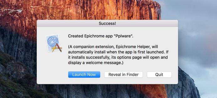 Epichrome - tutorial