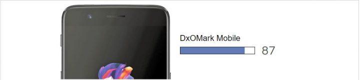 oneplus 5 - dxomark pontuação