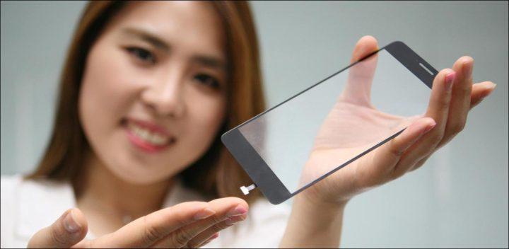 Imagem ecrã OLED LG